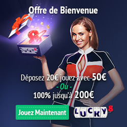 Promotion lucky 8