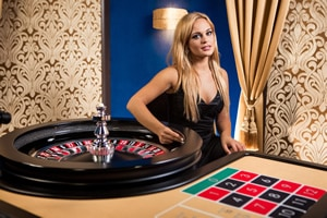 table roulette live