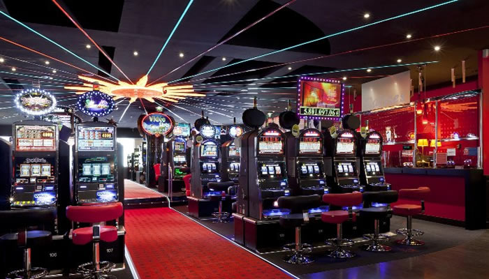 Machines à sous casino de Lille